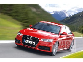 The new Audi A4 will ride on two cylinders