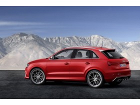 Audi showed a charged version of Q3