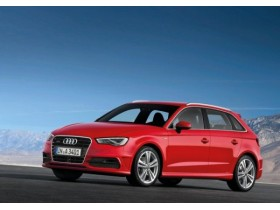 New Audi A3: shows the five-door version