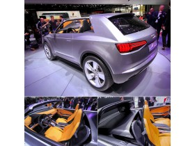 Audi showed a small crossover