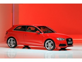 In Geneva, debuted the new Audi A3