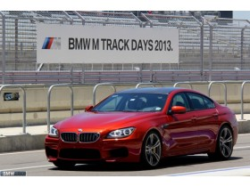 BMW M6 Gran Coupe at Circuit Of The Americas F1 Track