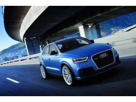 Audi unveiled the RS Q3