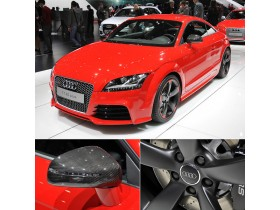"Audi TT RS has received 20 additional ""horses"""